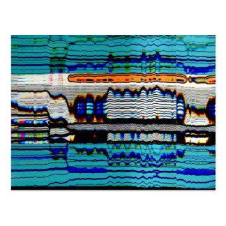 Trippy Art Postcard