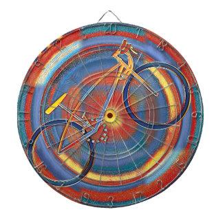 trippy bike dartboard