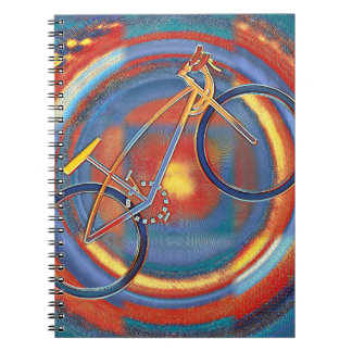 trippy bike notebook