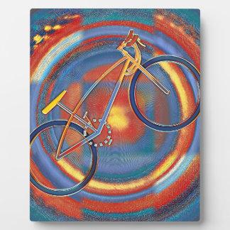trippy bike plaque