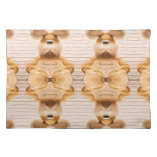 Trippy Bunnies Placemat