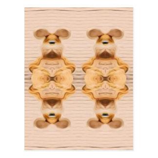 Trippy Bunnies Postcard