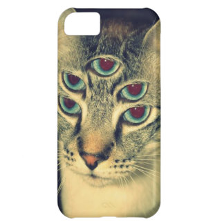 Trippy Cat iPhone 5C Covers