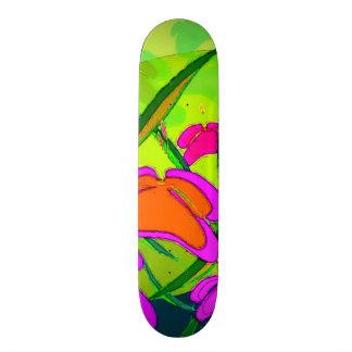 Trippy Collage Watercolor Custom Pro Park Board Skateboard Deck