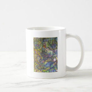 Trippy Colored Pencil Skin Coffee Mug