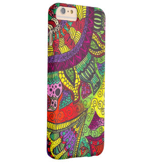 Trippy Colorful Mandala Barely There iPhone 6 Plus Case