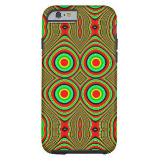 trippy colors tough iPhone 6 case