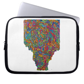 Trippy computer sleeve. laptop sleeve