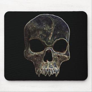 Trippy Evil Skull mousepad