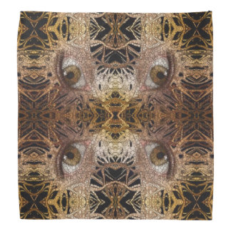 Trippy Eyes Abstract Pattern Bandana