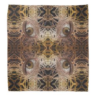 Trippy Eyes Abstract Pattern Bandana