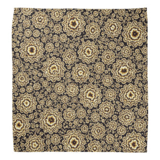trippy floral golden (C) Bandana