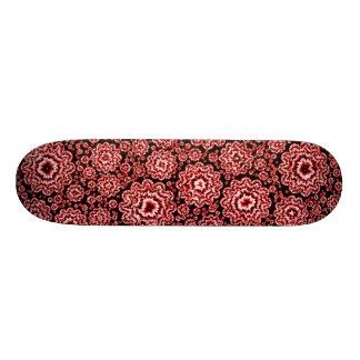 trippy floral red (c) skate boards
