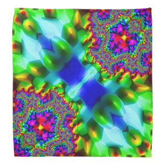 Trippy Fractal Abstract Kerchief