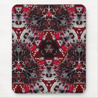 Trippy Fractal Art coaster Mouse Pad
