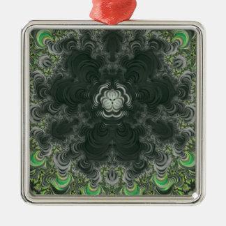 Trippy Fractal Art Ornaments