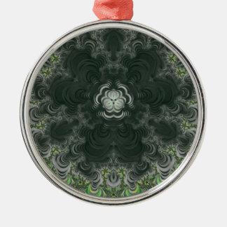 Trippy Fractal Art Ornament