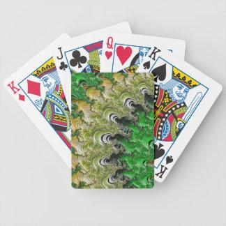 Trippy Fractal Art Poker Deck