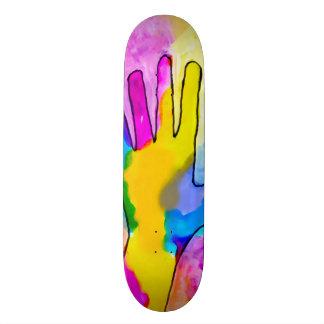 Trippy Graffiti Tracker Custom Pro Park Board Skateboard