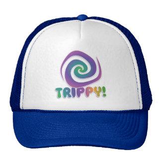 trippy! Groovy 70s psychadellic swirl Trucker Hat