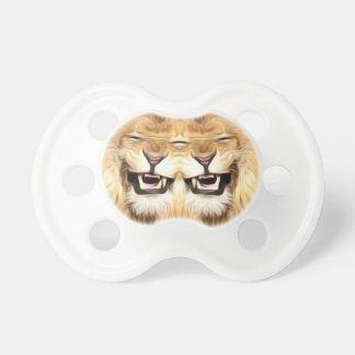 Trippy Happy Lion Baby Pacifier