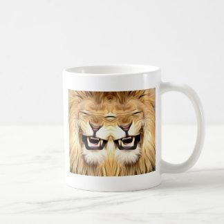 Trippy Happy Lion Coffee Mug