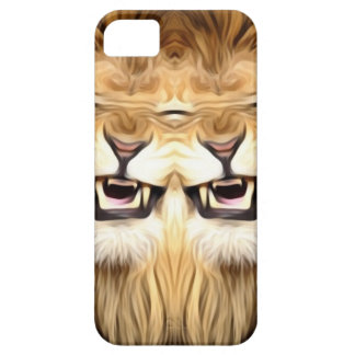 Trippy Happy Lion iPhone 5 Cover