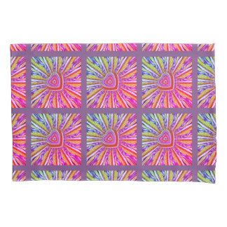 Trippy Hearts Pillow Case