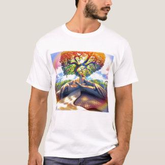 trippy-man-tree T-Shirt