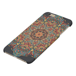 Trippy Mandala iPhone 6 Plus Matte Finish Case