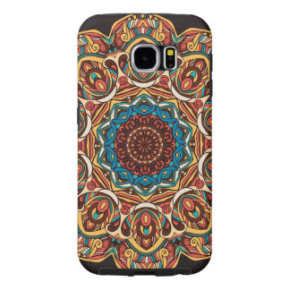 Trippy Mandala Samsung Galaxy S6, Tough Samsung Galaxy S6 Cases
