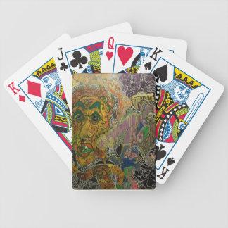 Trippy Multi-Media Skin Poker Deck