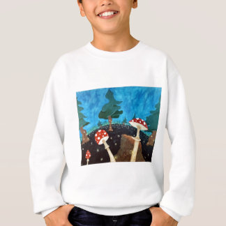 trippy night in the woods sweatshirt