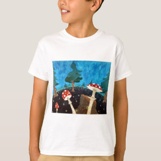 trippy night in the woods T-Shirt