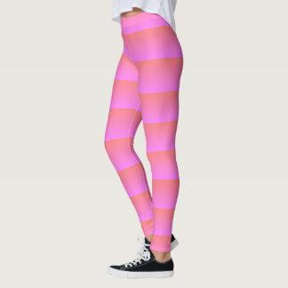 trippy pink leggings
