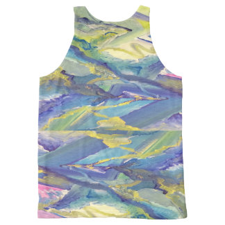 Trippy /Psychedelic/ Art Print All-Over Print Tank
