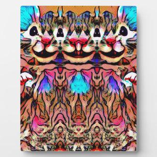 Trippy Rave Rat Plaque