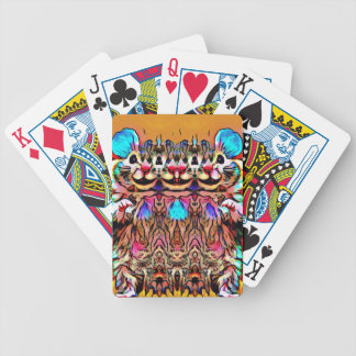 Trippy Rave Rat Poker Deck