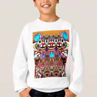 Trippy Rave Rat Sweatshirt