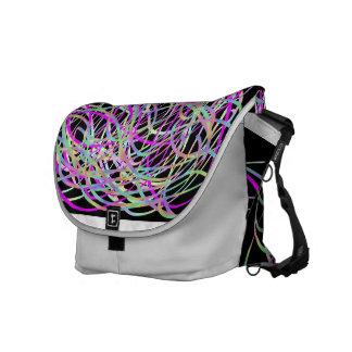 Trippy Ribbon Messenger Bag