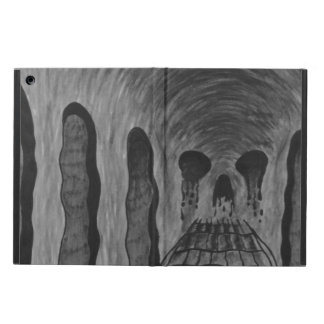 Trippy skull iPad air cover