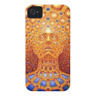 Trippy Skull iPhone 4 Case