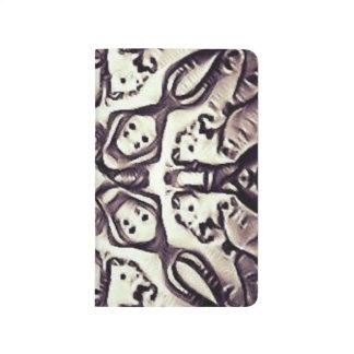 Trippy Skulls Sketchbook Journal