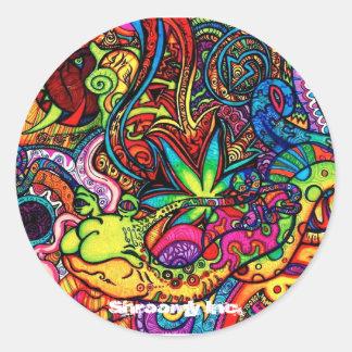 Trippy Sticker