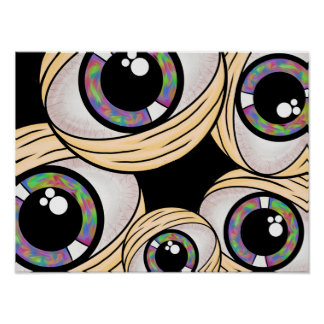 Trippy Third Eye Poster