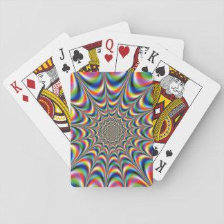 Trippy Trance Poker Deck