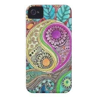 Trippy Yin Yang iPhone 4 Case