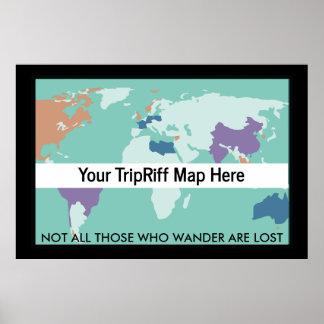 TripRiff Poster - 56x40