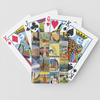 Trips Bicycle Playing Cards