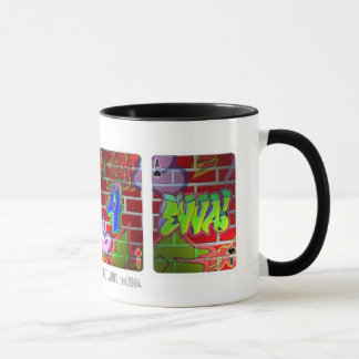 TripStops' '4 ACES' 11 oz. graffiti mugs